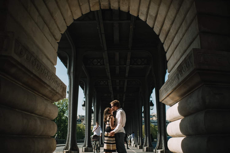 Arch de Triumphe engagement photos